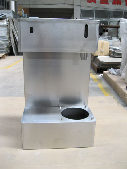 Custom Stainless Steel Enclosure for Snack Machine