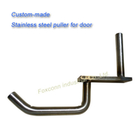 Hardware Stainless Steel Door Handle Sheet Metal Welding Parts