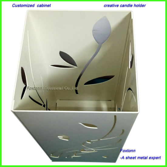 Factory Customized Sheet Metal Fabrication Cabinet for Candle Holder