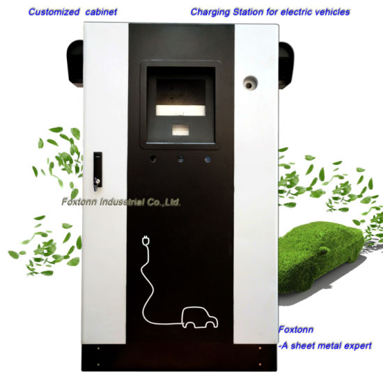 Customized Sheet Metal Cabinet EV Charging Station
