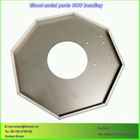 Laser Cutting Sheet Metal Fabrication CNC Bending Parts