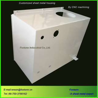 Custom Fabrication Sheet Metal Cabinet for Machine Housings
