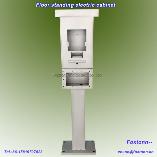 Floor Mounted Metal Cabinet Electric Vehicle (EV) Charging Station