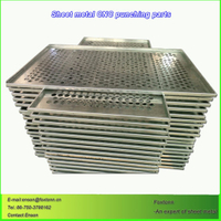 Sheet Metal Fabrication CNC Machining Punching Parts