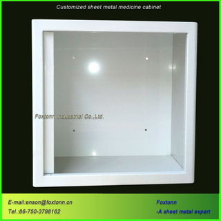 CNC Bending Sheet Metal Box Customized Medicine Cabinet