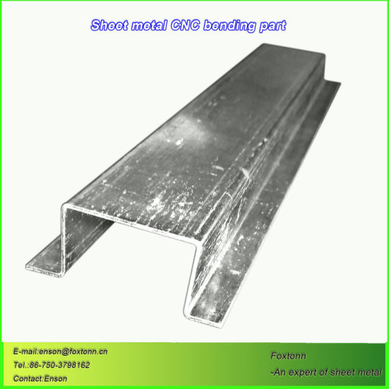 Metal Fabrication Manufacturers CNC Bending Services for Galvanized Parts