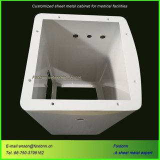 High Quality OEM Fabricated Bending Metal Cabinet and Housing