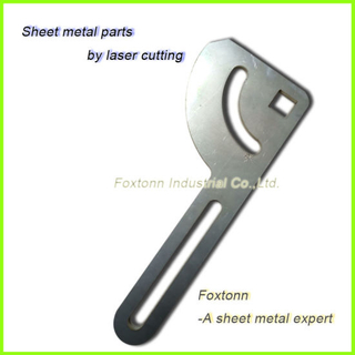 Stainless Sheet Metal Parts Customized by Laser Cutting Fabrication
