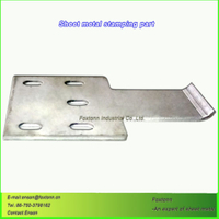 OEM Sheet Metal Fabrication Precise Stamping Parts
