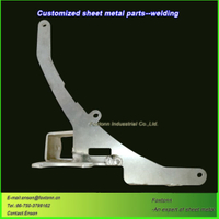 Sheet Metal Welding Aluminum Laser Cutting Parts
