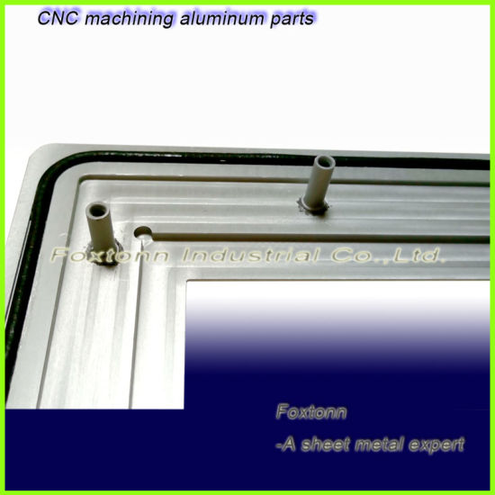 High Precision Sheet Metal CNC Machining Water Proof Aluminum Panel