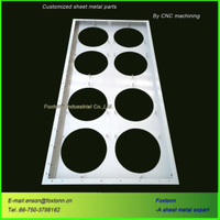 Professional Sheet Metal Fabrication CNC Cutting Punching Parts