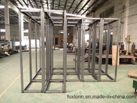 OEM China Manufactured Steel Frame for Electric Cabinet
