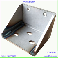 Fabrication of Sheet Metal Part Processing Bending and Welding