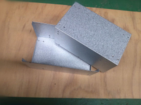 Custom Galvanized Steel Sheet Metal Fabrication