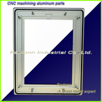 OEM Sheet Metal Parts Aluminum Panel Frame