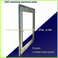 CNC Milling Parts Sheet Metal Fabrication Aluminum Machining