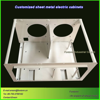 OEM Fabrication Sheet Metal Parts for Electrical Box